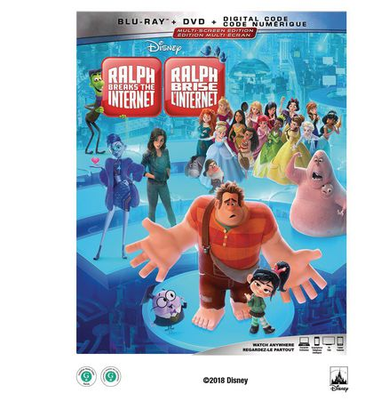 Ralph brise l'Internet 2-Disc Multiscreen Edition (BD+DVD+DIGITAL CODE) - image 1 de 1