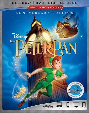 Peter Pan (Blu-ray + DVD + Digital Code) - image 1 de 1