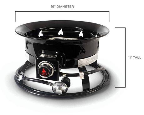 Outland Firebowl Deluxe Portable Propane Fire Pit ... on Outland Firebowl Propane Fire Pit id=31670