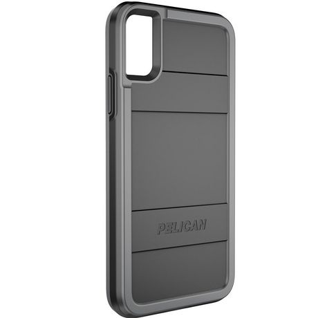wholesale dealer be7f3 79e25 Pelican Protector Case for iPhone X Black/Grey