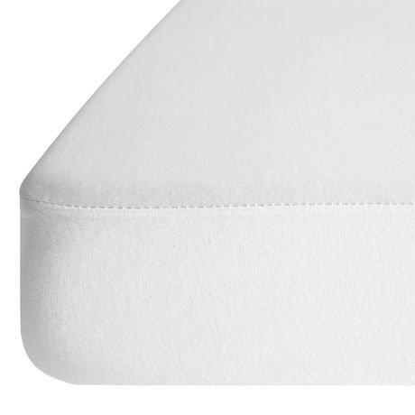 drap housse imperm able hypoallerg nique et respirable dreamserene dualsense walmart canada. Black Bedroom Furniture Sets. Home Design Ideas