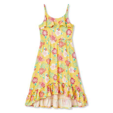 George Girls' Hi-Low Ruffle Dress - image 1 of 2