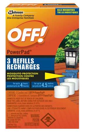Off Powerpad Mosquito Lamp Refills Walmart Ca