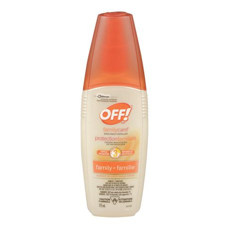 Off Family Care Spray Insect Repellent Summer Splash
