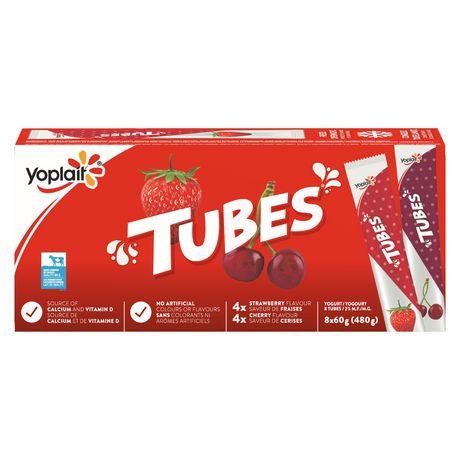 Tubes by Yoplait Cherry/Strawberry Yogurt - image 6 of 8