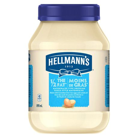 Hellmann's 1/2 The Fat Mayonnaise Dressing - image 2 of 7