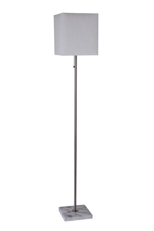 Hometrends Floor Lamp Marble Base, Square Marble Base Table Lamp