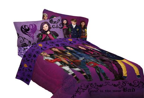 Disney Descendants Reversible Comforter Walmart Ca
