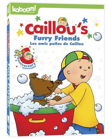 Caillou - Les amis poilus de Caillou - image 1 de 1