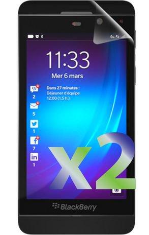 Protecteur d 39 cran exian pour blackberry z10 transparent for Photo ecran blackberry z10