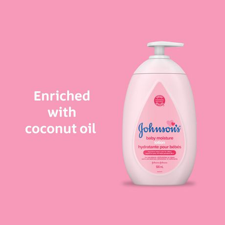 Johnson's Baby Lotion for Dry Skin, 500mL - image 3 of 9