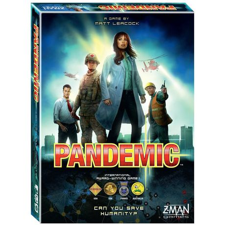 Pandemic Indie Adult Board And Card Game - image 1 of 1