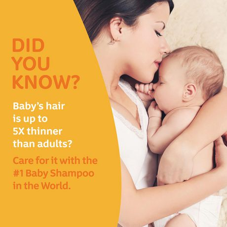 Shampoing pour bébés Johnson's, 600mL - image 4 de 9