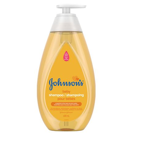 Shampoing pour bébés Johnson's, 600mL - image 1 de 9