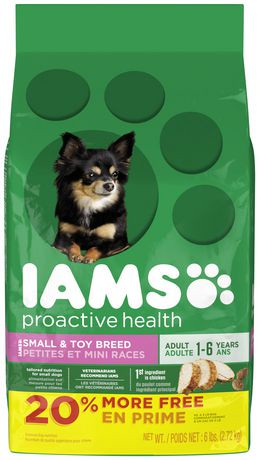 Iams Proactive Health Adult Small And Toy Breed Premium