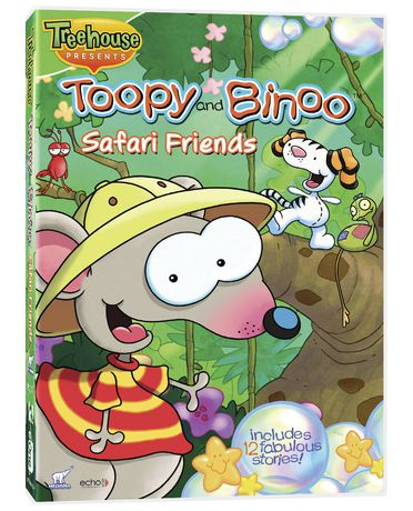 Tooby Amp Binoo Safari Friends Dvd Walmart Ca