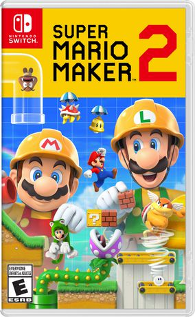 Super Mario Maker 2 (Nintendo Switch) - image 1 of 9