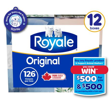 Royale® Original 2 Ply Facial Tissue by Royale