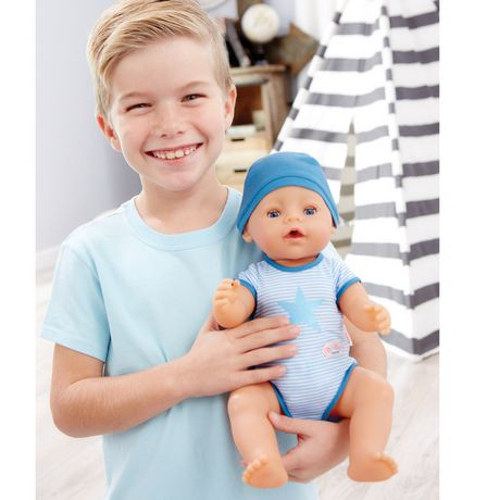 Baby Born Interactive Boy Doll- Blue Eyes | Walmart Canada