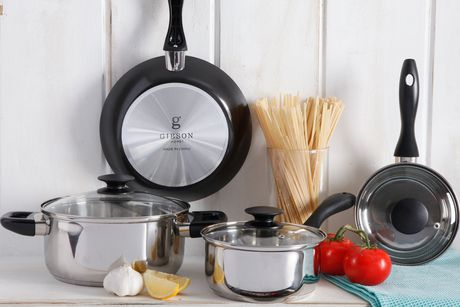 GIBSON HOME Essential Total Kitchen 83-PIECE Combo Set - image 3 of 9