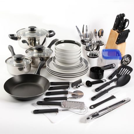 GIBSON HOME Essential Total Kitchen 83-PIECE Combo Set - image 1 of 9