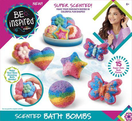 Ensemble pour fabriquer des bombes de bain par Be Inspired