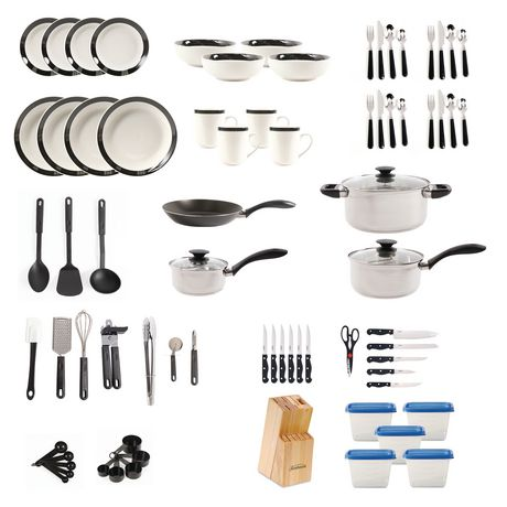 GIBSON HOME Essential Total Kitchen 83-PIECE Combo Set - image 2 of 9