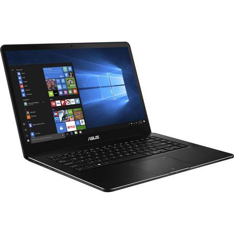 "Asus Zenbook PRO 15.6"", Core i7 7700HQ, NVIDIA GTX 1050Ti, 16GB DDR4, PCIE NVMe 512GB Ssd, Windows 10 (64bit), UX550VE-DB71T - image 1 of 2"