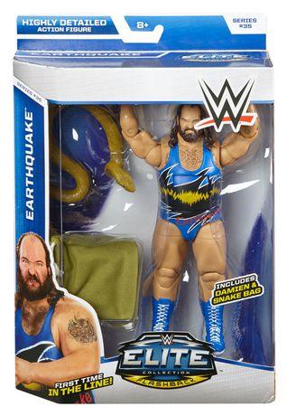 WWE Collection Elite – Série 35 – Figurine articulée Earthquake - image 4 de 5