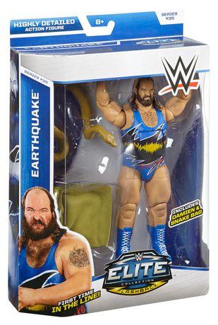 WWE Collection Elite – Série 35 – Figurine articulée Earthquake - image 5 de 5
