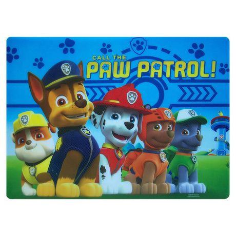 """PAW Patrol """"call Waiting"""" Placemat - image 1 of 1"""