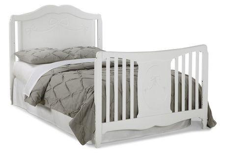 Storkcraft Princess 4 In 1 Convertible Crib White