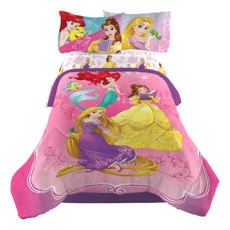 douillette pour lit simple ou double dazzling princesse des princesses disney walmart canada. Black Bedroom Furniture Sets. Home Design Ideas