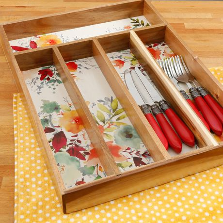 The Pioneer Woman Willow 5-Section Flatware Organizer - image 1 of 4