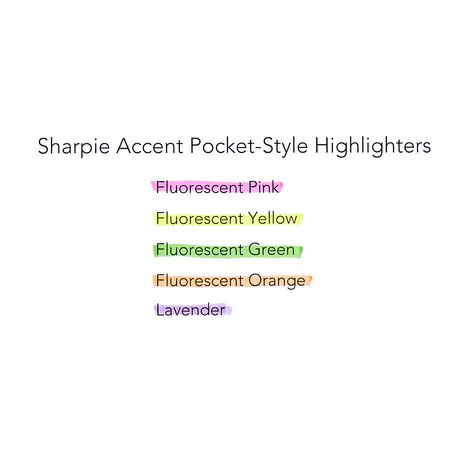 SHARPIE Pocket Style Highlighters Assorted Chisel Tip Pens - image 5 of 5