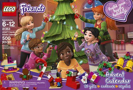 Calendrier Lego Friends 2019.Lego Friends Lego Friends Advent Calendar 41353