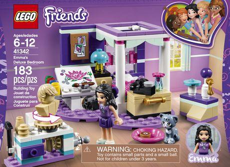 LEGO Friends - Emma's Deluxe Bedroom (41342) - image 5 of 6
