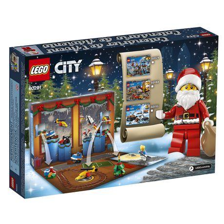 Calendrier City.City Town Le Calendrier De L Avent Lego City 60201