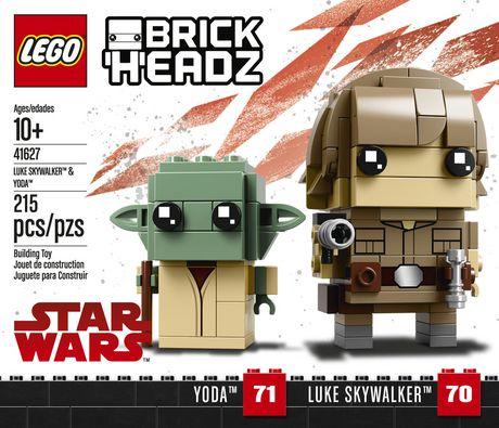 LEGO Brickheadz - Luke Skywalker™ & Yoda™ (41627) - image 5 of 6