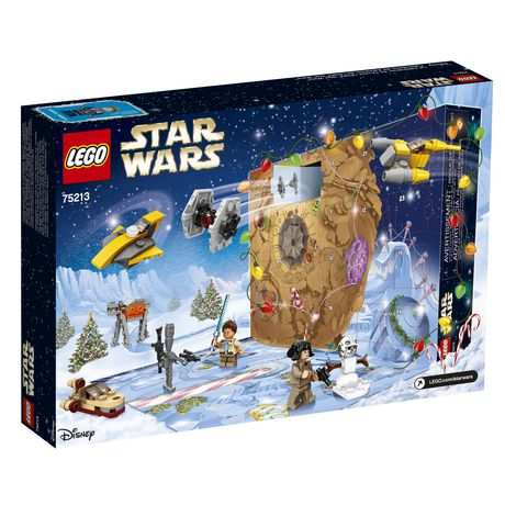 Calendrier Avent Lego Star Wars 2019.Star Wars Tm Lego Star Wars Advent Calendar 75213