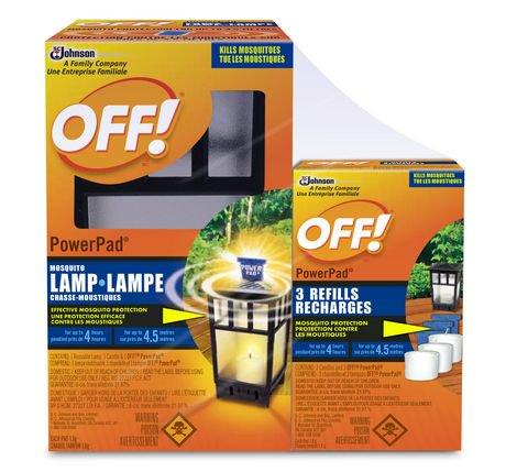 Off Powerpad Mosquito Lamp Refills Pack Of 3 Walmart Ca