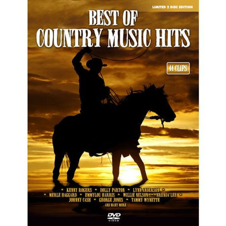 Best Of Country Music Hits  Disc Music Dvd