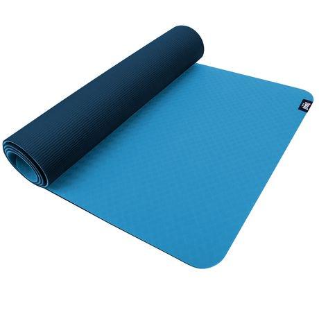 Everlast Tpe Premium 2 Tone Yoga Mat Walmart Canada