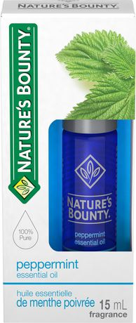 Nature's Bounty Peppermint Essential Oil - image 1 of 2