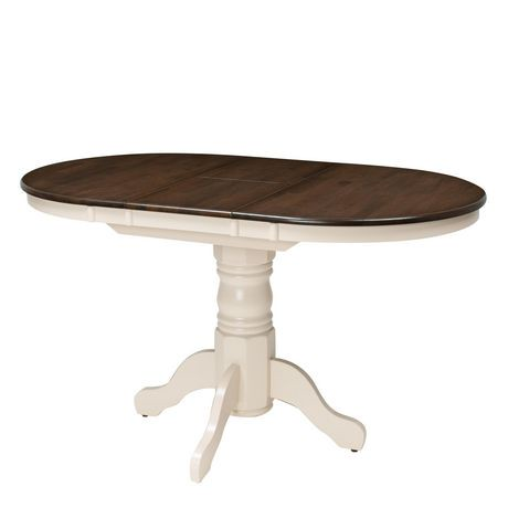 Table ovale extensible dillon de corliving pi destal en for Table extensible canada