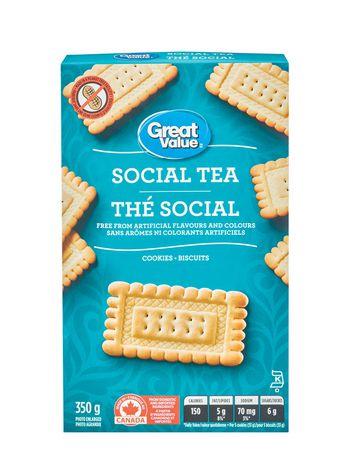 Biscuits thé social de Great Value - image 1 de 3