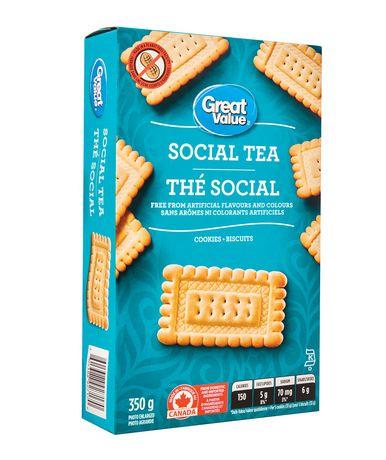 Biscuits thé social de Great Value - image 2 de 3
