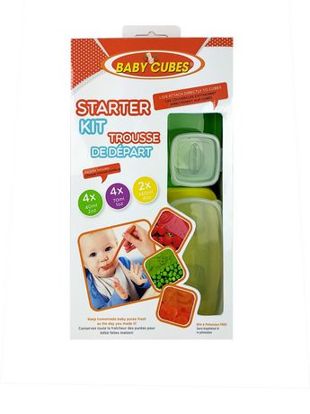 Baby Cubes Baby Food Containers Starter Kit - image 1 of 4