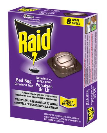do raid bed bug traps work