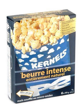 Kernels All Natural Bold Butter Popcorn - image 2 of 3